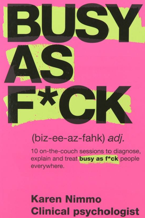 Cover for 'Busy as F*ck'