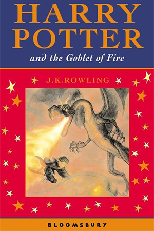 Cover for 'Harry Potter and the Goblet of Fire'