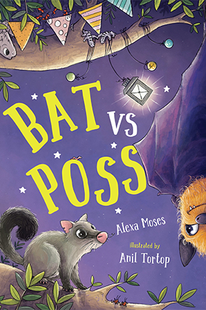 Cover for 'Bat vs Poss' by Alexa Moses